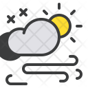 Storm Wind Cloud Icon
