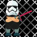 Storm Trooper Man Icon