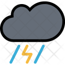 Storm Weather Insurance Icon