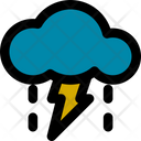 Stormy Rain Cloud Icon