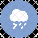 Stormy Thunder Rain Icon