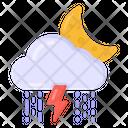 Stormy Night Icon