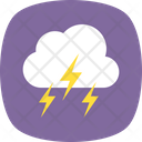 Lightning Clouds Thunderstorm Icon