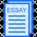 Story Essay Writing Icon