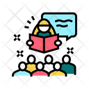 Story Time Children Icon