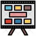 Story Board Story Planning Icon