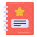 Notebook Story Book Favourite Book Icon