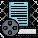 Story Screenwriting Script Story Icon