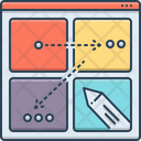 Storyboard Story Script Icon
