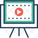 Storyboard Lecture Video Icon