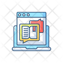 Storytelling Content Blog Icon