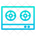 Gas Stove Cooking Kitchenware Icon