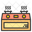 Stove Heat Fire Icon