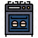 Stove Gas Oven Icon