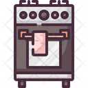 Cooking Kitchen Stove Icon