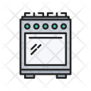 Stove Gas Kitchen Icon