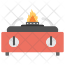 Burning Stove Gas Icon