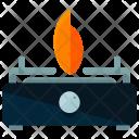 Small Stove Fire Icon