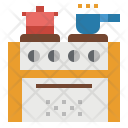 Stove Cooking Icon