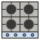 Stoves Kitchen Cooking Icon