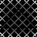 Straight Size Line Icon