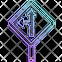 Straight Icon