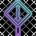 Straight Arrow Icon