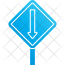 Straight Arrow Up Arrow Direction Icon