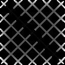 Straight Line Line Straight Icon