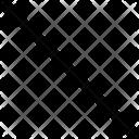 Straight Line Line Design Icon