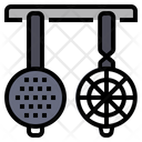 Strainers Kitchen Utensil Cooking Icon