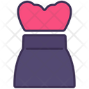 Strapless Tanktop Clothes Icon