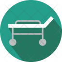Stratcher Treatment Bed Icon