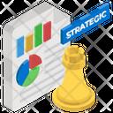 Strategic Management Business Planning Strategic File Icon