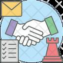 Strategic Partnership Icon