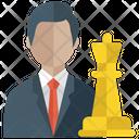 Strategic Person Icon