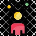 Molecule Man Digital Icon