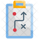 Strategic Plan Strategy Solution Icon