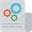 Paper Business Strategy Icon