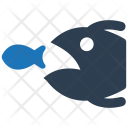 Strategy Competitor Fish Icon