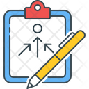 Strategy Planning Aim Icon