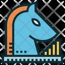 Strategy Chess Marketing Icon