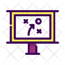 Business Strategy Tactics Icon