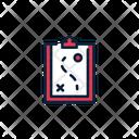 Strategy Gaem Planning Clipboard Icon