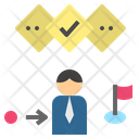 Strategy Plan Process Icon