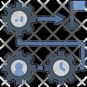 Strategy Plan Process Icon