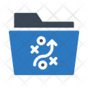 Strategy Planning Folder Icon