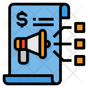 Strategy Planning Marketing Icon