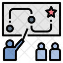 Plan Strategy Coach Icon