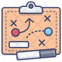 Clipboard Tactical Strategy Icon